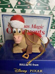 Bullseye Toy Story Disney Grolier Christmas Presidents Edition Ornament NIB COA
