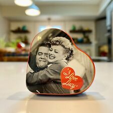 Lucy & Ricky Ricardo Heart Shaped Mini Pill Tin I Love Lucy Collectable