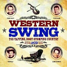 Western Swing: Toe-Tapping, Boot-Stomping Country [CD]