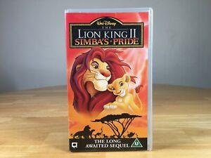 Walt Disney - The Lion King 2 Simba's Pride - VHS.
