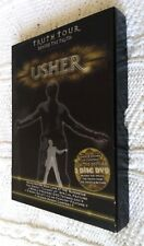 TRUTH TOUR - USHER- DVD, 3-DISC, LIMITED EDITION, BOX SET, R-1, LIKE NEW