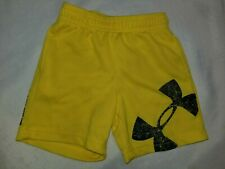Under armour Boys Shorts Size 12 Months Yellow