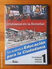 DVD CRISTIANOS EN LA SOCIEDAD 1 - LA AUTENTICA EDUCACION PARA LA CIUDADANIA (V5)