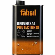 FABSIL UNIVERSAL CAMPING TENT CHAIR WATERPROOFING UV PROTECTOR 1 LITRE