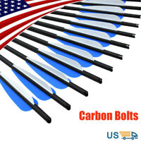 Carbon Arrows Crossbow Bolts Outdoor Target Shooting Hunting Archery Bows 16-22""