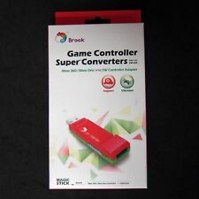 Brook XBOX One, XBOX 360 Controller Adapter to for Nintendo Wii U Switch Console