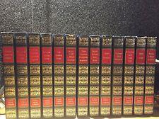 Nobel Prize Library 13 of 20 book set 1971  Alfred Bernhard Nobel Prize Winners