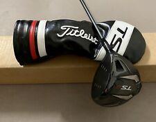 Used Titleist TS2 Driver 9.5* HZRDUS SMOKE 6.0 60g Stiff Flex Graphite Golf Club