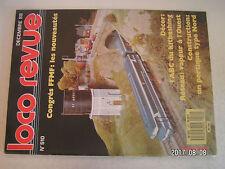 **a1 Loco Revue n°510 Portique de manutention 10t / Une Z 4100 en H0