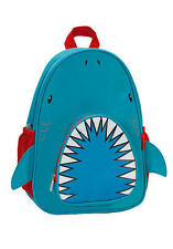 Rockland Kids Shark Backpack School Bag Cute Boys Travel Animal Cartoon Zoo Blue
