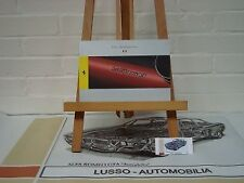 Ferrari LaFerrari owners manual (Italian)