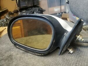1998 Lincoln Mark VIII OEM Power Mirror Assembly DRIVER SIDE White Pearlescent