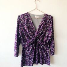 Viscose Business Floral Blouses for Women