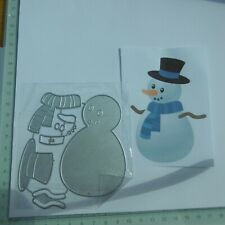 for Christmas*Cutting Dies**SNOWMAN **Cards*Topper