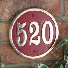 Round Traditional Decorative Plaques & Signs