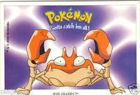 Pokémon Gotta catch'em all n° 98 - KRABBY (A970)