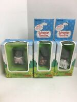 Calico critters/sylvanian families Thistlethorn Mouse family of 3