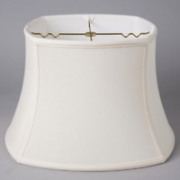 EGG ROUNDED SQUARE BELL Soft LAMPSHADE Versatile NEW & PERFECT EleGanT