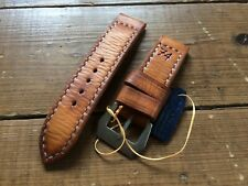 Handmade vintage style 74 leather strap, 24mm fits panerai