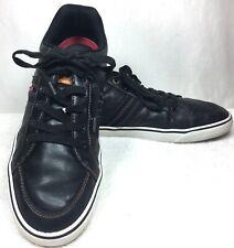 CLARKS Men's Soft Cushion Ortholite Black Boat Deck Shoes 15770 US Size 8.5