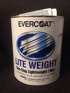 Evercoat 156 Lite Weight Body Filler FE-156 (0.8 GALLON)