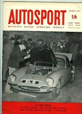 Autosport October 9th 1959 *MGA 1600 test & Paris Salon*