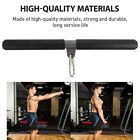DIY Rotating Straight Bar Weight Machine Accessories Bicep Pull Bar For Home Gym