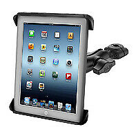 "RAM Mount iPad Samsung 10"" Tablet Car Seat rail Headrest holder kit universal"