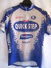Maillot cycliste QUICKSTEP DAVITAMON LATEXCO 2003 Vermarc shirt jersey trikot L