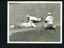 Danny Taylor Alex Kampouris & Billy Myers 1936 Press Photo Brooklyn Dodgers