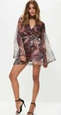 Missguided Chiffon Dresses Fit & Flare