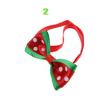 1pc Christmas Dog Cat Pet Puppy Bow Knot Necktie Collar Bow Tie Clothes Cute Toy 2