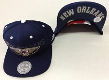 NBA New Orleans Pelican Adidas Name Under Brim Snap Back Cap Hat Beanie #VB86Z
