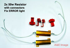 2x LED bulb TURN signal Light Load  Pair Resistor 50W 6OHM Fix Error Free Light