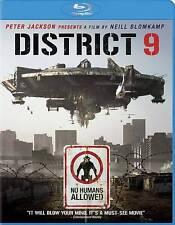 District 9 [Blu-ray] Sci Fi Movie - Peter Jackson - Free Shipping