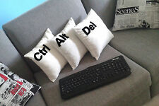 CAD -Set of 3 pcs : Ctrl, Alt, Del cushion covers,pillow cases - Two & Half Men