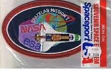 VINTAGE PATCH ECUSSON SPACE SHUTTLE - NASA-ESA SPACELAB MISSION 1 - NEUF