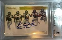 EZEKIEL ELLIOTT BGS 9/10 Mint 2016 Flawless Rookie Progressions /20 AUTO Cowboys
