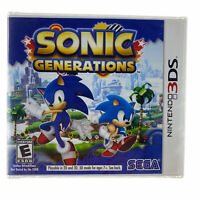 Sonic Generations (Nintendo 3DS, 2011) New Sealed - Free Shipping
