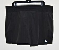 Tasc Performance Plus Size Finesse Workout Short 1x Black 4t9