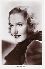 Picturegoer Series, JEAN ARTHUR, Columbia Actress / Cinema Film Star RP