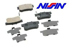 Honda / Acura OEM Nissin Rear Brake Pads With Shims 43022-S84-A50 Made In Japan