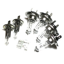 Lancia Phedra 179 55w Clear Xenon HID High/Low/Fog/Side Headlight Bulbs Set