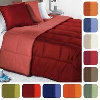 Trapunta 1 piazza letto singolo Invernale bicolor CALEFFI 15 colori in cotone