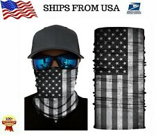Bandana US Flag Multi-use Tube Scarf Face MASK Neck Gaiter SPF40 - USA Seller