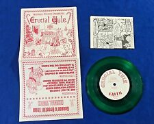"Crucial Youth - ""Crucial Yule"" 7"" - NJHC, SXE, Turning Point, Floorpunch, NYHC"