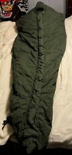 "vintage US MILITARY ""MUMMY"" SLEEPING BAG (INTERMEDIATE COLD WEATHER) ARMY GREEN"