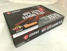 MSI MPG X570 GAMING PLUS AMD AM4 MOTHERBOARD-DDR4-PCIe 4.0-DUAL M2-FAST POST