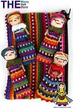 New Worry Dolls in Textile Zip Pouch for Girls