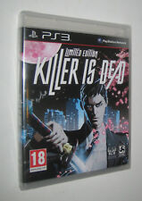 KILLER IS DEAD - Limited Edition - ps3 - italiano - BLISTERATO
